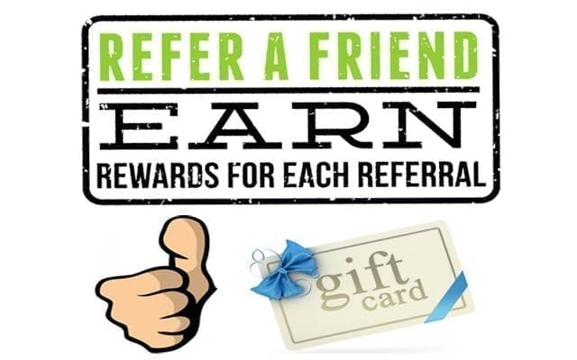 Referral Rewards - painting business