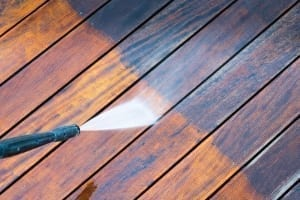 Power Washing - Deck