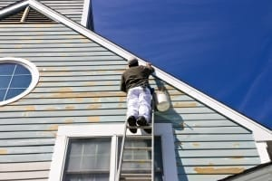 exterior house painting - siding