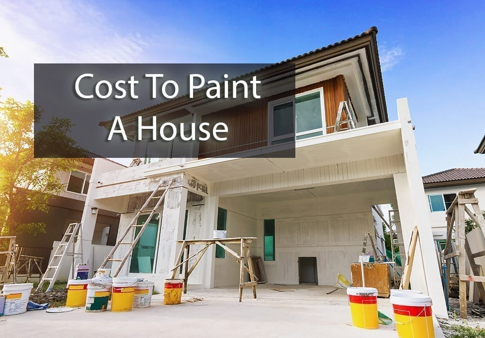 the cost to paint a house - cover