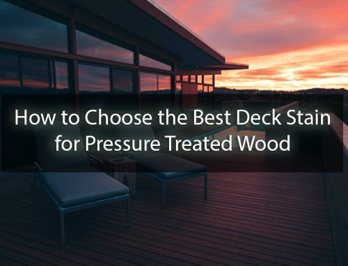 How to Choose the Best Deck Stain for Pressure Treated Wood