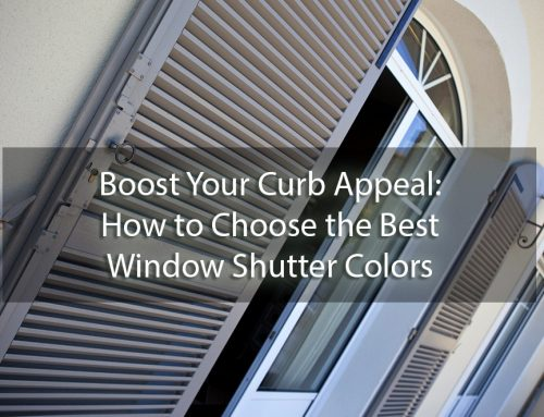 Boost Your Curb Appeal: How to Choose the Best Window Shutter Colors for Your Home