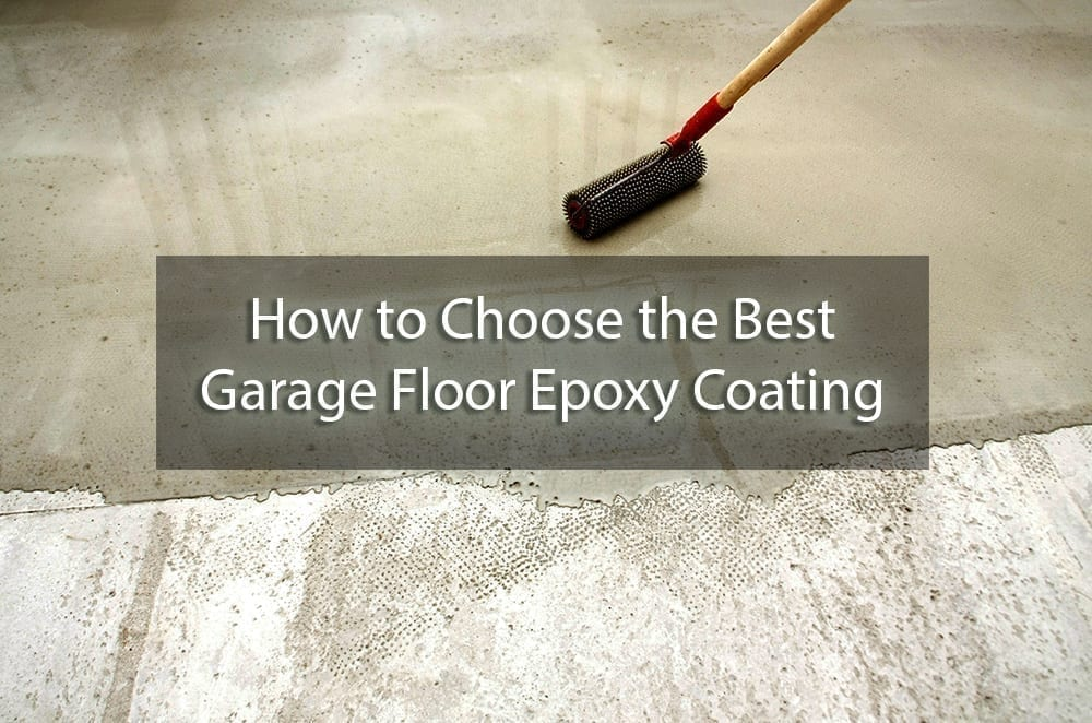 How To Choose The Best Garage Floor Epoxy Coating Surepro Painting