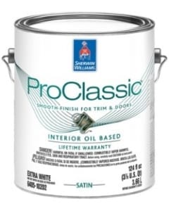 Sherwin Williams Pro Classic oil based paint