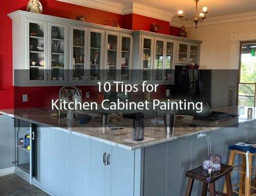 10 Tips for Painting Kitchen Cabinets