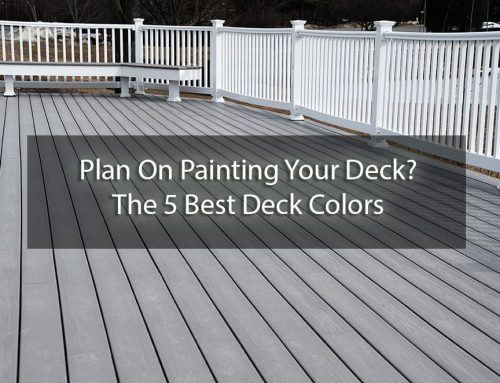 Plan On Painting Your Deck? The 5 Best Deck Colors
