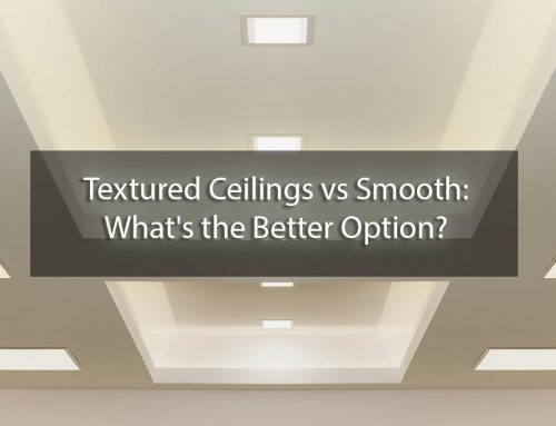 Textured Ceilings vs Smooth: What's the Better Option?