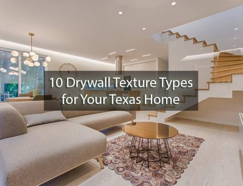 10 Drywall Texture Types for Your Texas Home