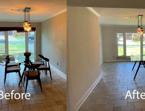 Re-texturing Drywall – Living and Dining Room Rehab