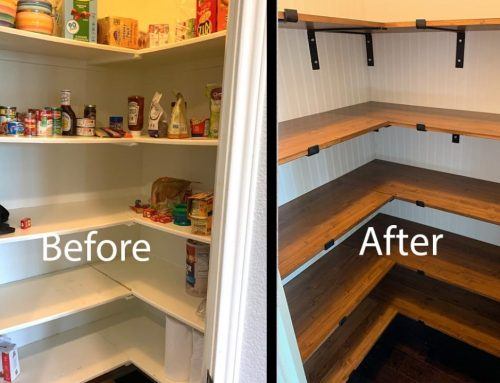 Farmhouse Kitchen Pantry Remodel