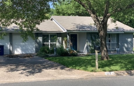 front exterior house painting gray