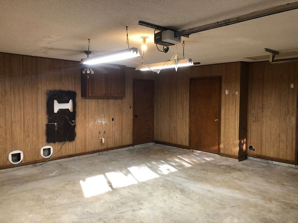 garage before - looking right