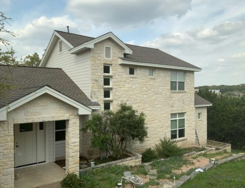 Hill Country Exterior Painting Project