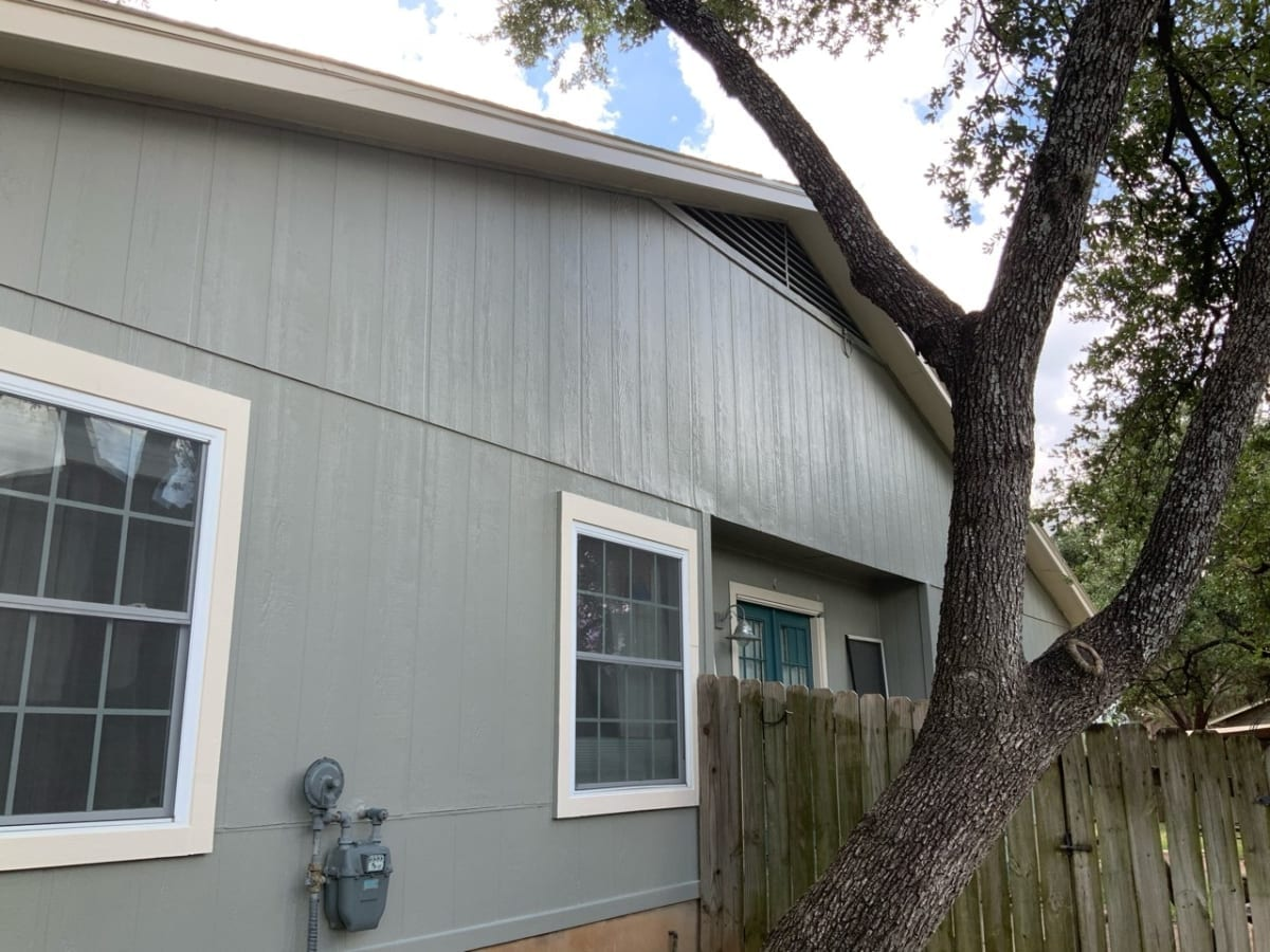 gray exterior paint colors and white trim