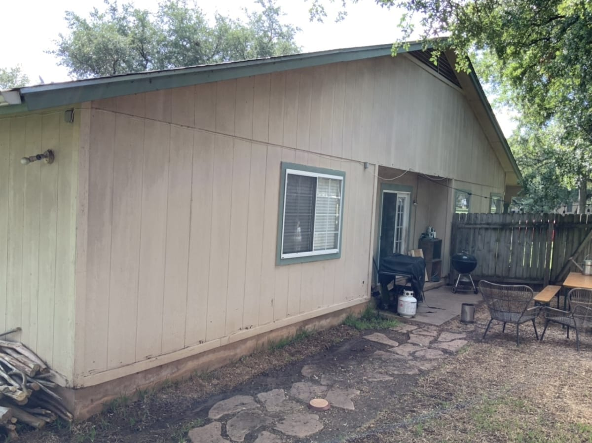 home in need of exterior rehab