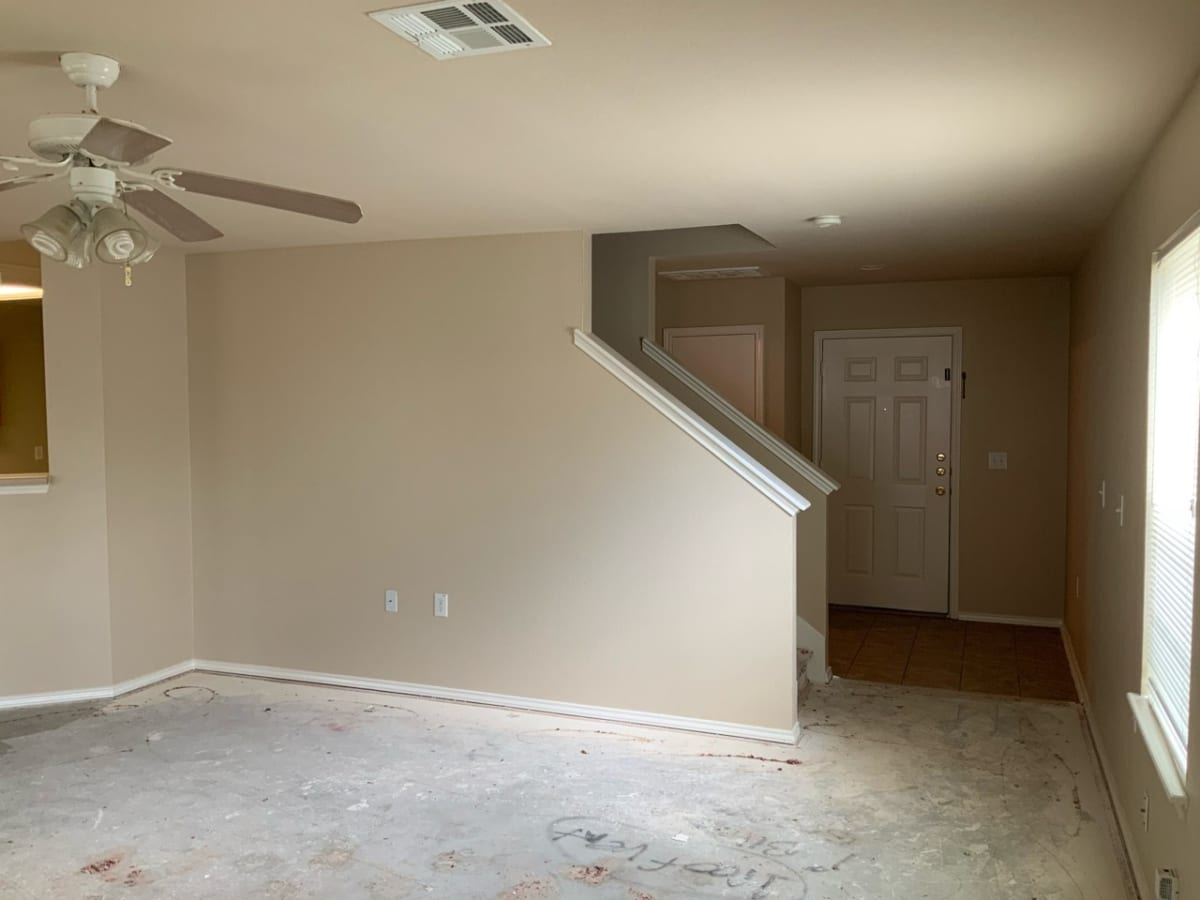 house paint interior - living area