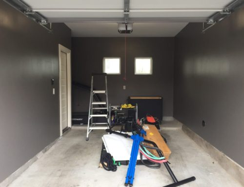 Garage Interior Paint – Finished Garage