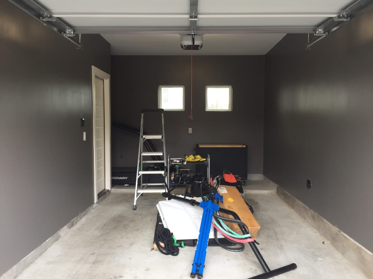 Garage Interior Paint - completed