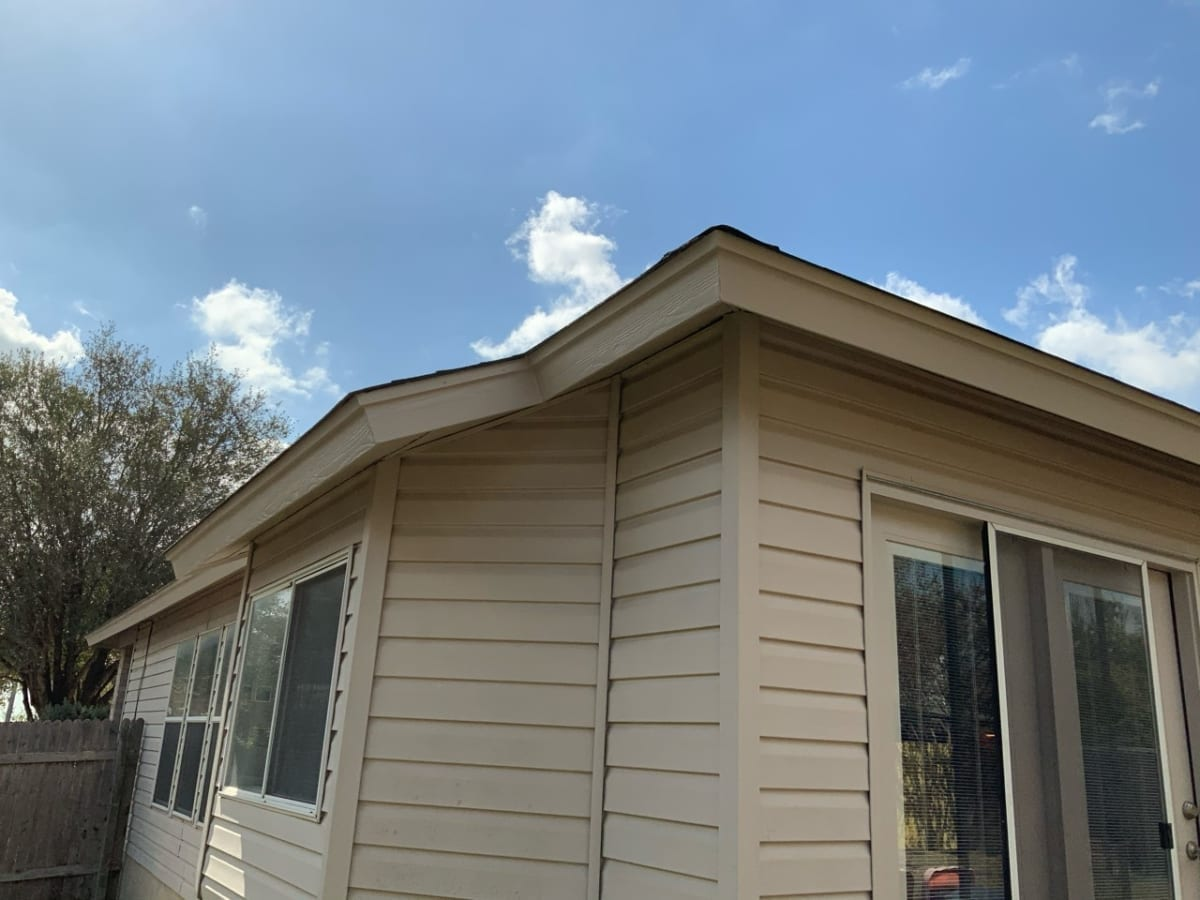 outdoor house painted siding