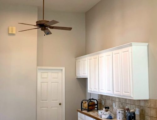 Repainting Kitchen Cabinets White