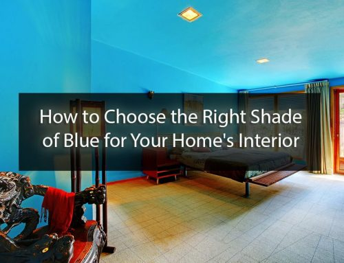 Choosing the Right Shade of Blue Paint for Your Home's Interior