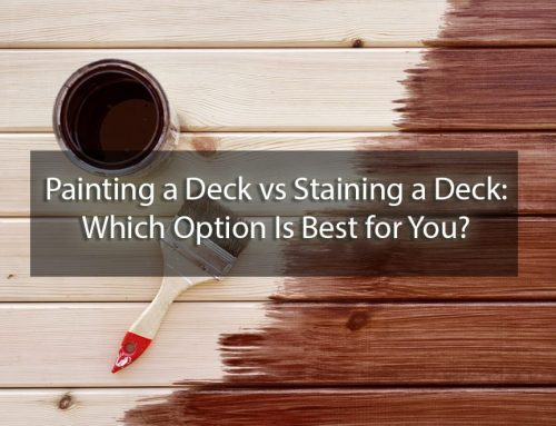 Painting a Deck vs Staining a Deck: Which Option Is Best for You?