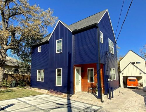 Blue House – Exterior Painting Revival
