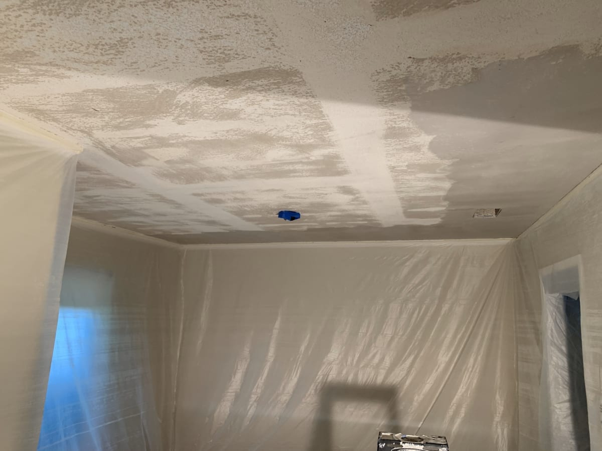 floating a vaulted ceiling
