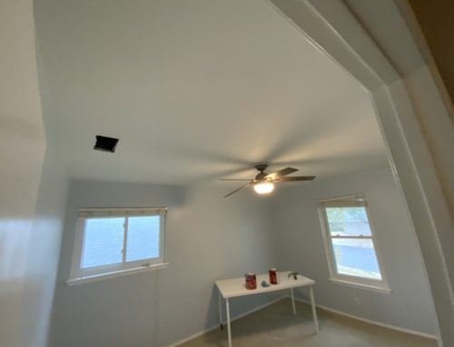 Changing Popcorn Ceiling Texture To A More Modern Look