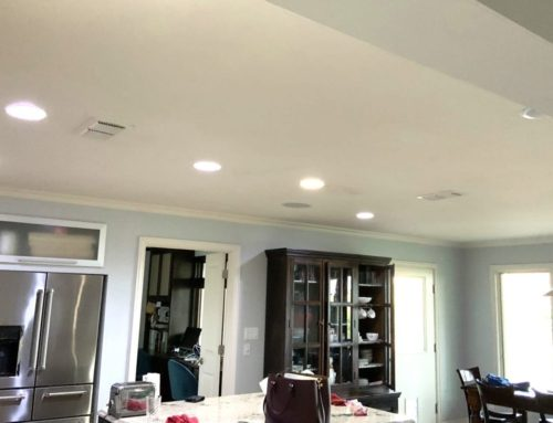 Changing Ceiling Texture in Home